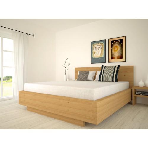 bett aus massivholz aus zirbelkiefer. Black Bedroom Furniture Sets. Home Design Ideas