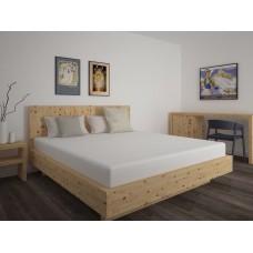 Schlafzimmer aus Zirben Massivholz