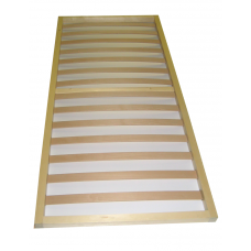 Betteinsatz aus Zirbenholz