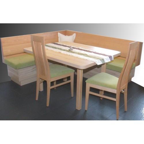 Panca ad angolo faggio for Panca angolare con tavolo