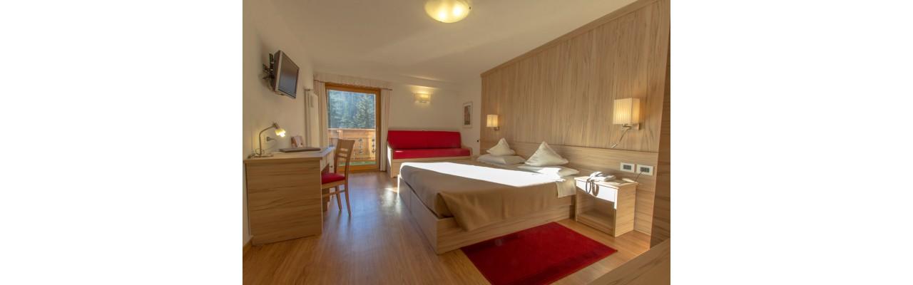 Camera da letto in legno faggio anima